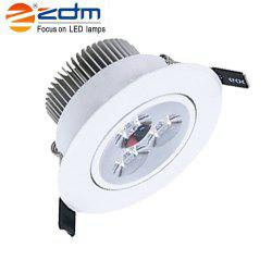 ZDM 3X2W 400-450LM LEDCeiling Lamps Warm / Cool / Natural White AC85-265V -