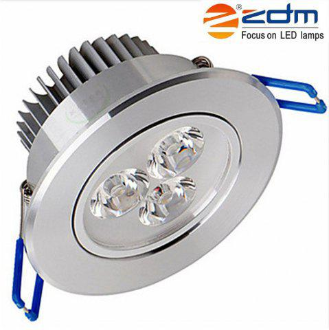 New ZDM 3X2W 400 - 450LM Silveryled Ceiling Lamps Warm / Cool / Natural White AC85-265V NATURAL WHITE LIGHT AC85-265V