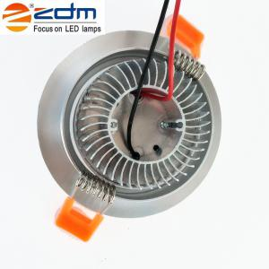ZDM 4PCS 7W 700 - 750LM Dimmable LED Ceiling Lamps Warm / Cool / Natural AC 110/220V - WARM WHITE LIGHT AC110V