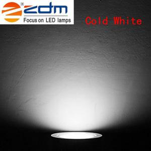 ZDM 4PCS 7W 700 - 750LM Lampes de plafond à basse tension Led chaud / Cool / Natural White AC12V / 24V - LEGER BLANC FROID AC24V