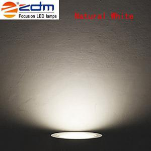 ZDM 2PCS 7W 750 - 850LM Dimmable Thick Radiator LED Ceiling Lamps Warm / Cool / Natural White AC110V / 220V -