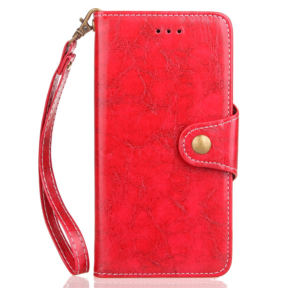 Cheap Yc Waxwork Skin Card Lanyard Pu Leather for iPhone X