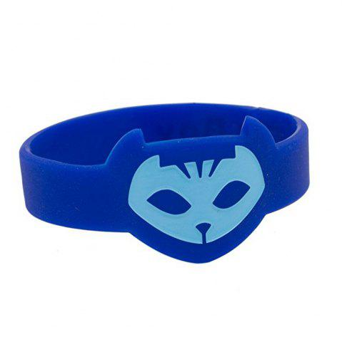 Chic Masks Silicone Bracelet Wrist Band for Kids Cosplay Party