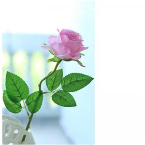 10 Branch Silk light Purple Roses Wedding Party Decoration Home Decoration Artificial Flowers -