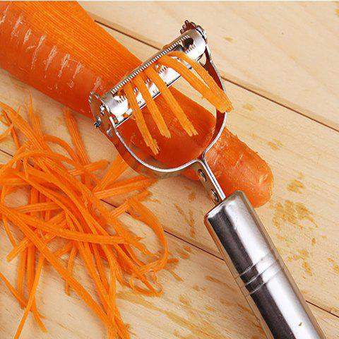 Store DIHE 2-In-1 Vegetable Potato Slicer Grater Peeler Shredder Chopper for Cucumber / Carrot / Tomato / Onion / Melon