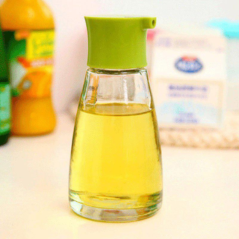 170ML Glass Flavored Bottle for Soy Sauce Oil VinegarHOME<br><br>Color: GREEN; Type: Other Kitchen Accessories; Material: Glass,PP; Available Color: Black,Green,Red,White;