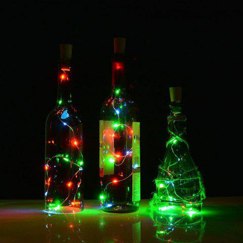 Unique Jueja Multicolor LED Sliver Wire String Light with Bottle Stopper for Glass Craft Valentines Wedding Decoration Lamp Party