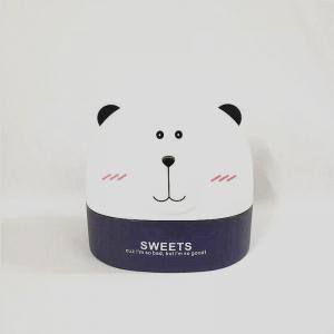 Creativity Lovely Polar Bear Tissue Box for Storage - BLUE VIOLET