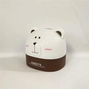 Créativité Lovely Polar Bear Tissue Box for Storage -