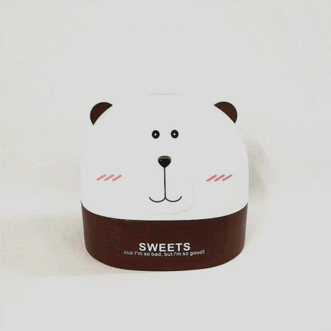 Créativité Lovely Polar Bear Tissue Box for Storage