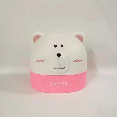Créativité Lovely Polar Bear Tissue Box for Storage ROSE PÂLE