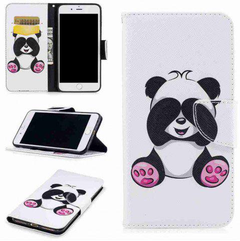 Fancy Giant Panda Pu Phone Case for iPhone 7