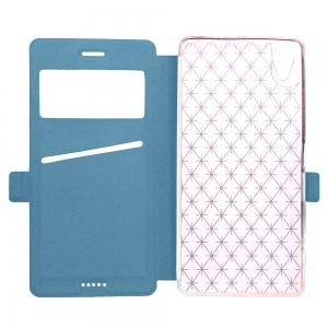 Yc Lingogwen Window Card Lanyard Pu Leather for Sony Xa -