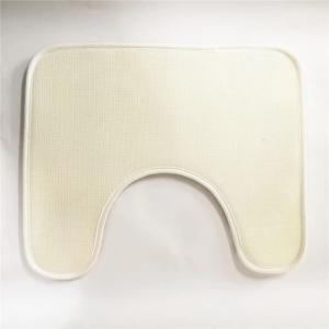 American Style 3PCS Undersea Stone Toilet Seat Cushion Covers - GRAY