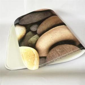 American Style 3PCS Undersea Stone Toilet Seat Cushion Covers -