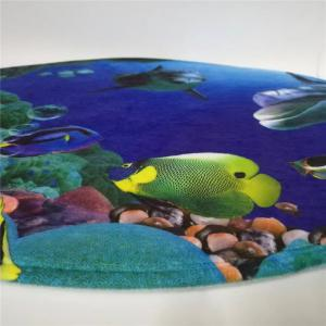 Western Style 3PCS Undersea World Toilet Seat cushion -