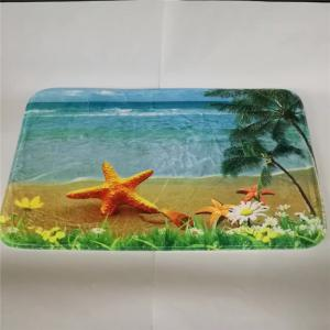 Western Style 3PCS Undersea World Starfish Toilet Seat Cushion -