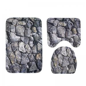 New Style 3PCS rock Printing Toilet Seat Cushion -