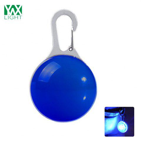 Ywxlight Led Pet Decorations Luminous Pendant Night Warning Bleu
