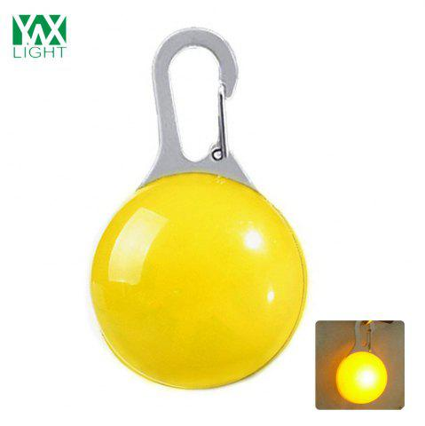 Fancy Ywxlight Led Pet Decorations Luminous Pendant Night Warning - YELLOW  Mobile