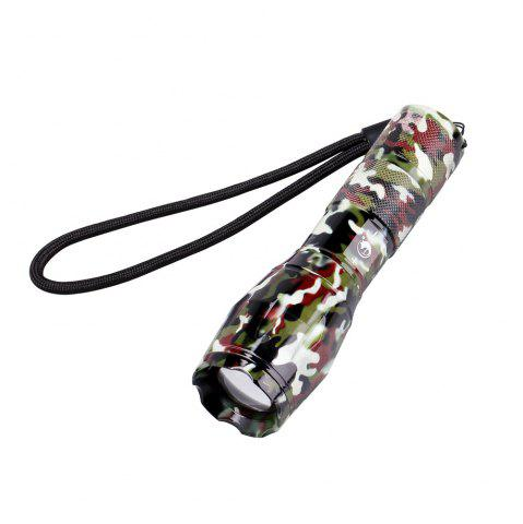 Latest UKing Xml T6 1000LM 5 Mode Zoomable Camouflage Flashlight Torch
