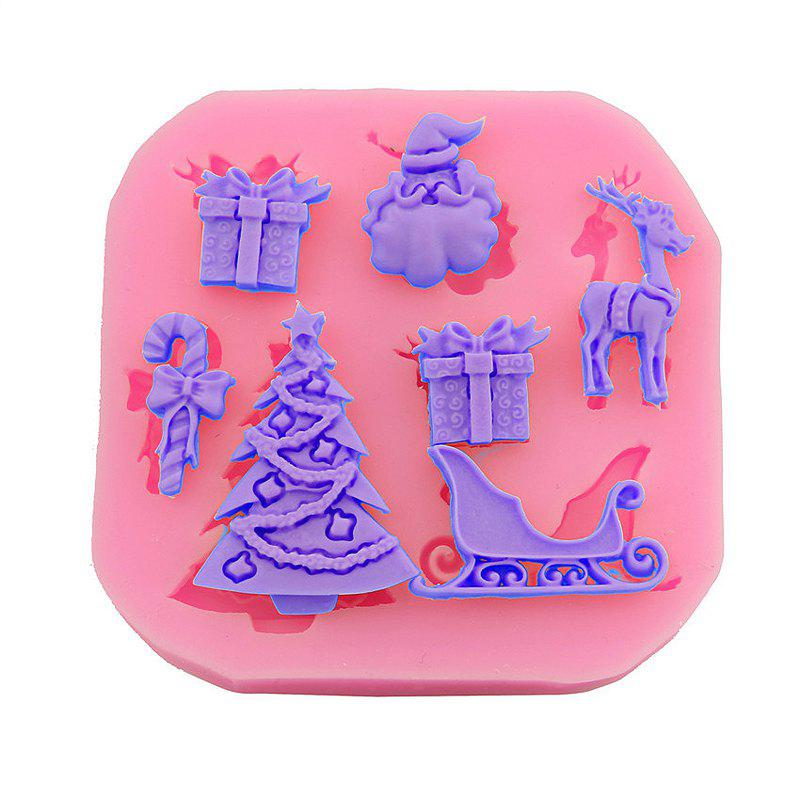 Macroart 2 Pieces Baking Tool DIY High Quality Christmas Cake MoldsHOME<br><br>Color: COLOR ASSORTED;
