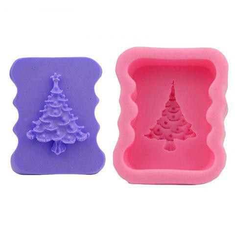 Affordable Macroart 2PCS Cake Molds Cooking Utensils Bread Chocolate Cake Silica Gel Baking Tool DIY Christmas Tree - COLOR ASSORTED  Mobile
