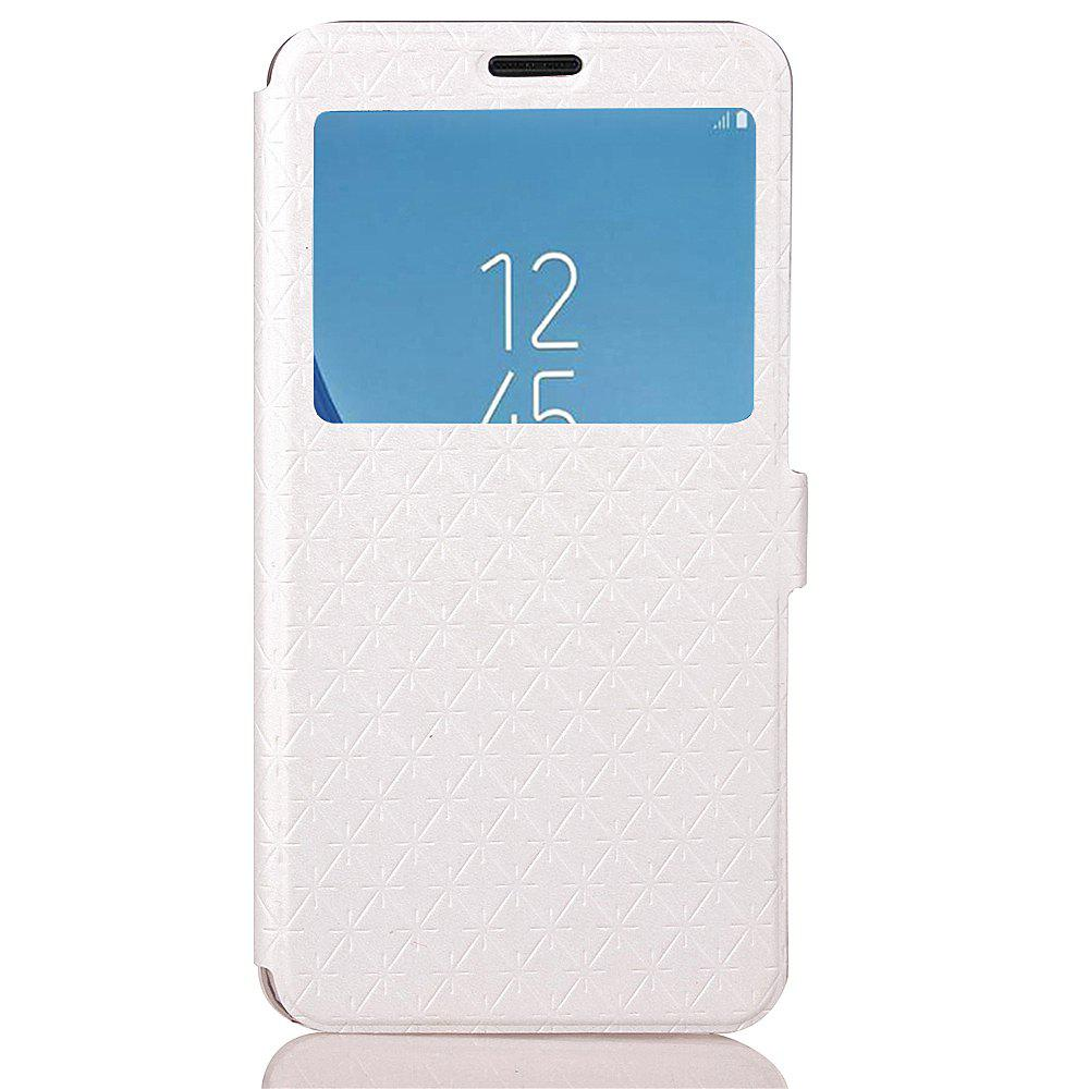 Yc Lingogwen Window Card Lanyard Pu Leather pour Samsung J530