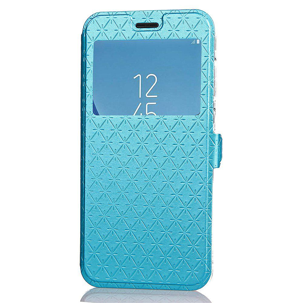 Store Yc Lingogwen Window Card Lanyard Pu Leather for Samsung J530
