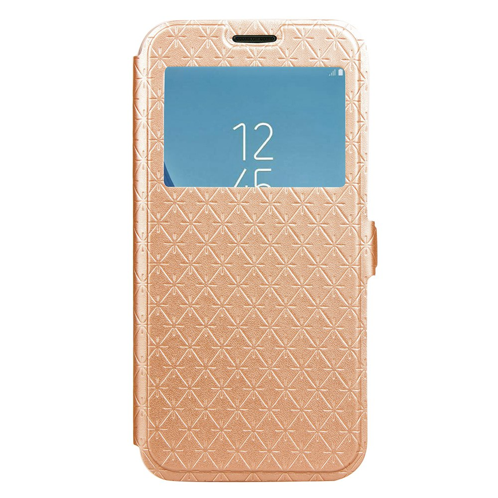 Online Yc Lingogwen Window Card Lanyard Pu Leather for Samsung J530