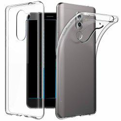 Ultrathin Shock-Absorption Bumper TPU Clear Case for HUAWEI Honor 6X -