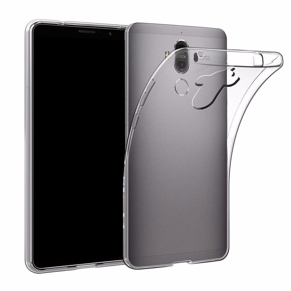 Ultrathin Shock-Absorption Bumper Tpu Clear Case for Huawei Mate 9HOME<br><br>Color: TRANSPARENT; For: Mobile phone; Compatible models: HUAWEI Mate 9; Style: Transparent; Package weight: 0.0200 kg; Product size (L x W x H): 15.80 x 8.00 x 1.00 cm / 6.22 x 3.15 x 0.39 inches; Package size (L x W x H): 18.00 x 13.00 x 3.00 cm / 7.09 x 5.12 x 1.18 inches; Package Contents: 1 x Phone Case;