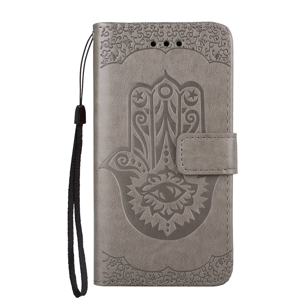 Fancy Wkae Embossed Leather Case Cover with Insert Card Slots And Kickstand for Samsung Galaxy A310