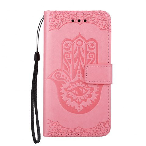 Shops Wkae Embossed Leather Case Cover with Insert Card Slots And Kickstand for Samsung Galaxy A510