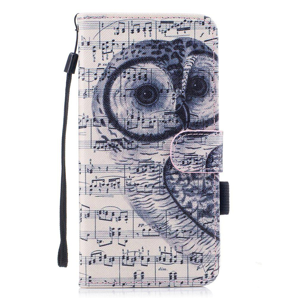 Store Color Pattern Flip PU Leather Wallet Case with Sling for Samsung Galaxy S8 Plus