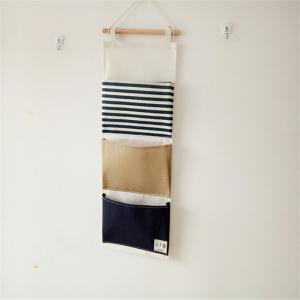 Multi-Functional Stripes Three Lattice Storage Hang Bags -