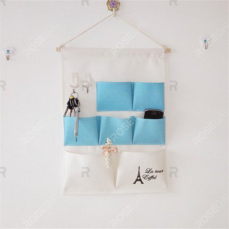 Multi-Functional Stripes storage Hang BagsHOME<br><br>Color: BLUE;