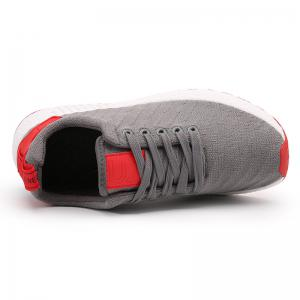Color Block Knited Sport Shoes - GRAY 43