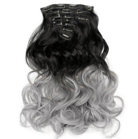 Shops TODO 24inch Curly Ombre Style 7-Piece 16-Clip Hair Extensions - 24INCH #2 Mobile