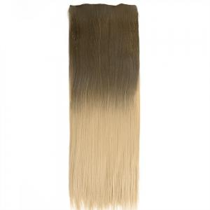 TODO Straight Ombre 7-Piece 16-Clip Clip-in Hair Extensions - #3 22INCH