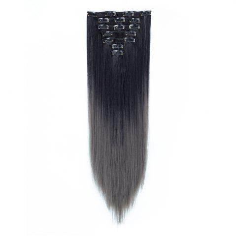 Sale TODO Straight Ombre 7-Piece 16-Clip Clip-in Hair Extensions