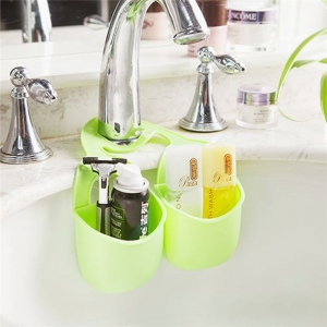 Double Basket Kitchen Sink Pouch -
