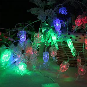 20-LED Pineapple Shaped Christmastree String Lights Decoration Colored Lamp - COLORFUL