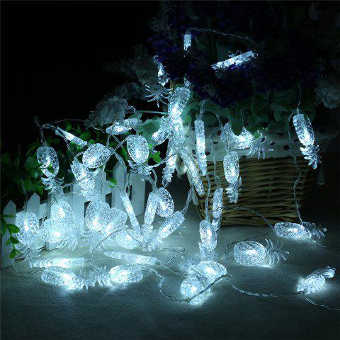 Fashion 20-LED Pineapple Shaped Christmastree String Lights Decoration Colored Lamp