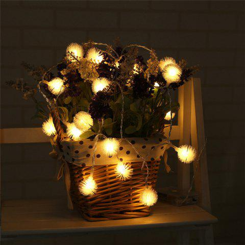 Outfit 20-LED Dandelion Christmas Tree Shaped String Lights Decoration Colored Lamp