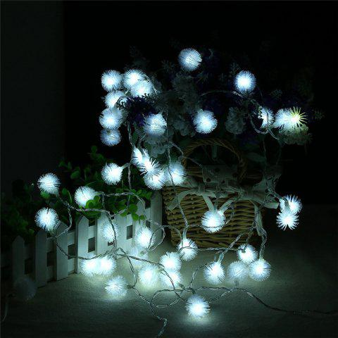 Online 20-LED Dandelion Christmas Tree Shaped String Lights Decoration Colored Lamp WHITE