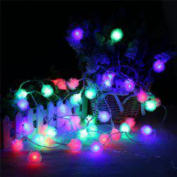 20-LED Dandelion Christmas Tree Shaped String Lights Decoration Colored Lamp -