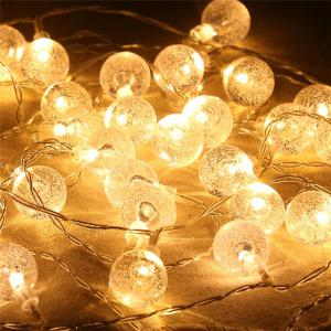 20-LED Bubble Ball Shaped Christmas Tree String Lights Decorated Colored Lamp -