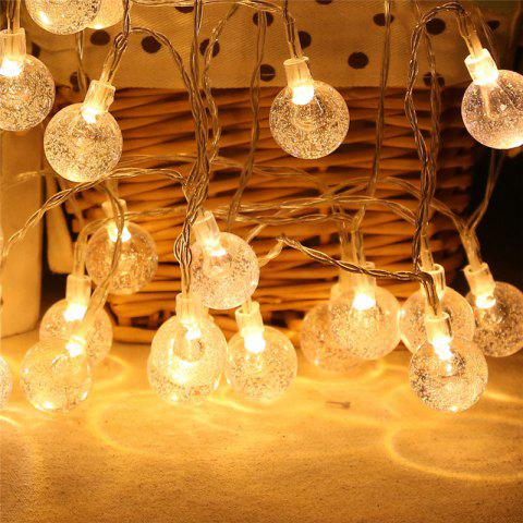 Shops 20-LED Bubble Ball Shaped Christmas Tree String Lights Decorated Colored Lamp WARM WHITE LIGHT