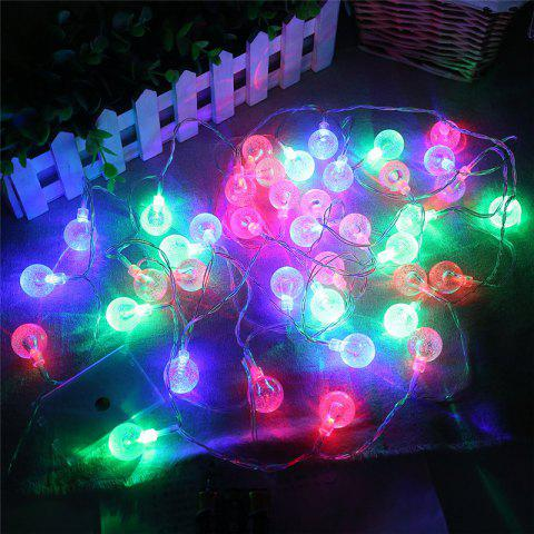 Online 20-LED Bubble Ball Shaped Christmas Tree String Lights Decorated Colored Lamp - COLORFUL  Mobile